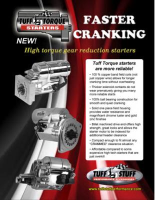 High Torque Gear Reduction Starters