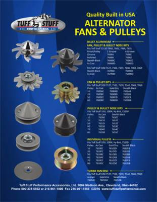 Fans & Pulleys for Alternators