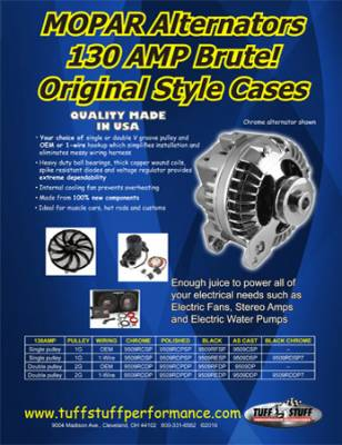 High Amp Chrysler Alternators