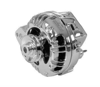 Chrysler 1960-1988 - 1-Wire - Tuff Stuff Performance - Alternator 100 AMP 1 Wire Single Groove Pulley Aluminum Polished 8509RDPSP