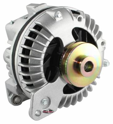New Products - Alternators - High Amp - Tuff Stuff Performance - Alternator 130 AMP 1 Wire Single Groove Pulley As Cast 9509DSP