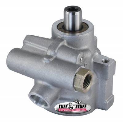 Power Steering Pumps - Type II - Universal - Tuff Stuff Performance - Type II Alum. Power Steering Pump GM LS Stock Replacement For 1998-2002 Camaro And Firebirds Alum For Street Rods/Custom Vehicles w/Limited Engine Space Factory Cast PLUS+ 6175AL-6