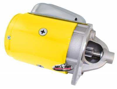 Tuff Stuff Performance - OEM Style Starter Full Size 2 Bolt Mounting Yellow Powdercoat 3124BYELLOW