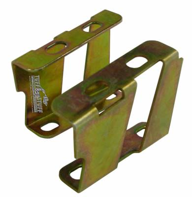 Braking - Accessories - Tuff Stuff Performance - Brake Booster Brackets Incl. Left And Right Side 1955-1964 GM For Brake Booster PN[2121/2122/2123/2124/2221/2222/2223/2228/2229/2231] Gold Zinc 4651B