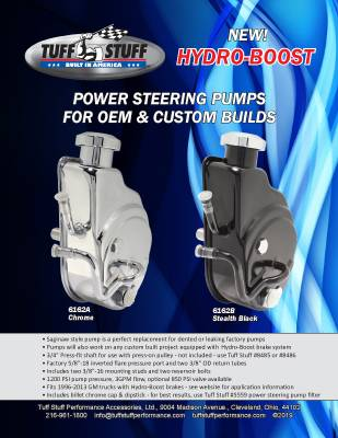 Hydro-Boost Power Steering Pumps