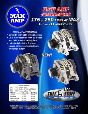 Max Amp Alternators