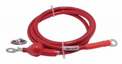 Alternator Replacement Pigtail Charge Wire w/Boot 48 in. 6 Gauge Red 754848