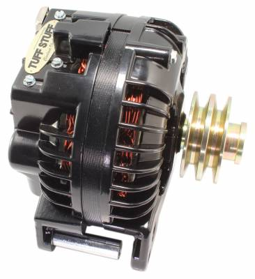 Tuff Stuff Performance - Alternator 60 AMP 1 Wire Double Groove Pulley Black 8509RGDP - Image 2