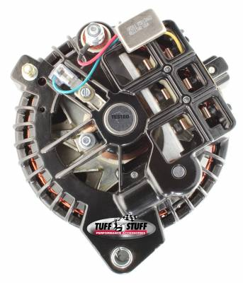 Tuff Stuff Performance - Alternator 60 AMP 1 Wire Double Groove Pulley Black 8509RGDP - Image 3