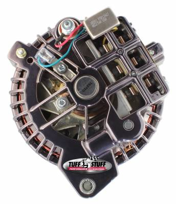 Tuff Stuff Performance - Alternator 100 AMP 1 Wire Double Groove Pulley Black Chrome 8509RDDP7 - Image 3