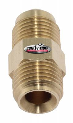 Power Steering Hose Fitting 3/8 in. (5/8-18) Male Inverted Flare x 3/8 in. (5/8-18) Male SAE Flare Saginaw Pumps 5557