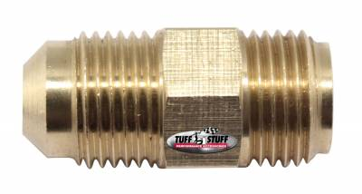 Tuff Stuff Performance - Power Steering Hose Fitting 3/8 in. (5/8-18) Male Inverted Flare x 3/8 in. (5/8-18) Male SAE Flare Saginaw Pumps 5557 - Image 2