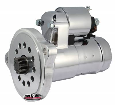 Gear Reduction Starter 1.6 KW Motor 2 Bolt Straight Mounting Indexable Chrome 6551A