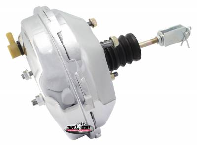 Power Brake Booster 9 in. Single Diaphragm 3/8 in.-16 Mtg. Studs And Nuts Chrome 2233NA