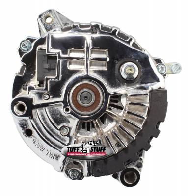 Tuff Stuff Performance - Alternator 160 AMP 1 Wire Or OEM 6 Groove Pulley Double Wide Heavy Duty Ball Bearings Polished 7935FP6G - Image 2