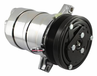 LT1 Series A/C Compressor 6 Groove Pulley Polished 4511NB