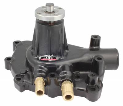 Platinum SuperCool Water Pump 5.437 in. Hub Height 5/8 in. Pilot w/Pass. Side Inlet Aluminum Casting Black 1432AC
