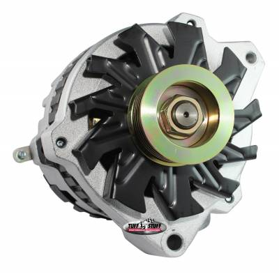 Alternator 105 AMP 1 Wire Or OEM 6 Groove Pulley Factory Cast PLUS+ 7860-16G