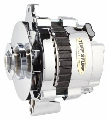 Alternator 160 AMP 1 Wire Or OEM V Groove Pulley Exceeds Rigorous Standards Polished 7935FP