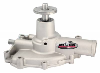 Platinum SuperCool Water Pump 5.735 in. Hub Height 5/8 in. Pilot Reverse Rotation Aluminum Casting Factory Cast PLUS+ Driver Side Inlet 1594AC