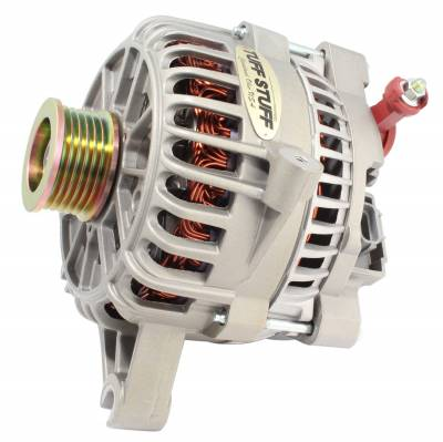 Alternator 135 AMP OEM Wire 6 Groove Pulley Factory Cast PLUS+ 8252