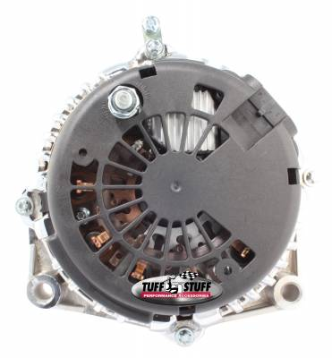 Tuff Stuff Performance - Alternator 105 AMP OEM Wire 6 Groove Pulley Internal Cooling Fan Chrome 8238A - Image 2