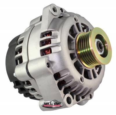 Alternator 175 AMP Upgrade Factory Cast PLUS+ 1-Wire Hookup Back Post 6 Groove Pulley 8233ND1