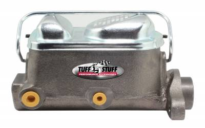 Brake Master Cylinder Dual Reservoir 1 in. Bore 3/8 in-24 And 1/2 in.-20 Ports 3 1/8 in. Mounting Hole Spacing As Cast 2017NB