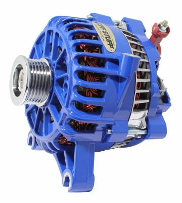 Alternator 135 AMP OEM Wire 6 Groove Pulley Blue 8252ABLUE
