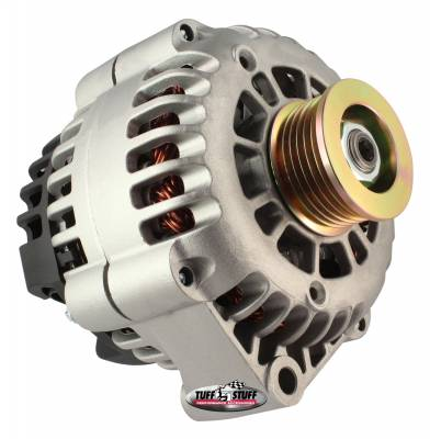 Alternator 175 AMP Upgrade Factory Cast PLUS+ 1-Wire Hookup Back Post 6 Groove Pulley 8283ND1