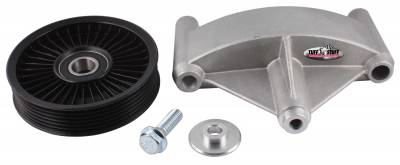 Smog Pump Eliminator Kit Incl. Alum. Brackets/Idler Pulley w/Bearing/Pulley Mounting Bolt/Washer Factory Cast PLUS+ 1700