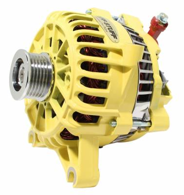 Alternator 135 AMP OEM Wire 6 Groove Pulley Yellow 8252AYELLOW