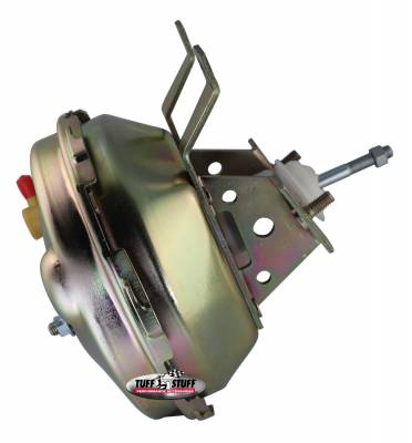 Tuff Stuff Performance - Power Brake Booster 9 in. Single Diaphragm Incl. Booster Mtg. Bracket/3/8 in.-16 Mtg. Studs And Nuts Gold Zinc 2230NB - Image 2