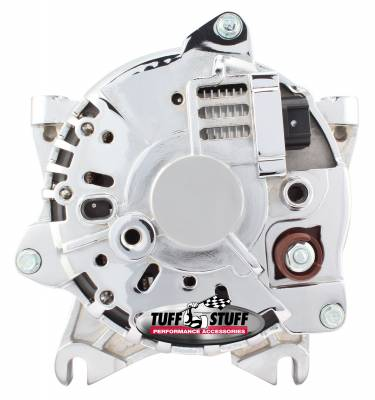 Tuff Stuff Performance - Alternator 225 AMP OEM Wire 6 Groove Clutch Pulley Chrome 8438D - Image 2