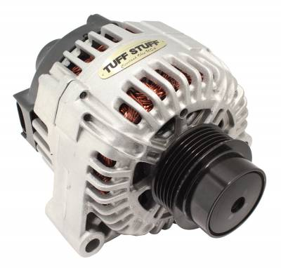 Tuff Stuff Performance - Alternator 150 AMP OEM Wire 6 Groove Clutch Pulley Factory Cast PLUS+ 7722N - Image 1
