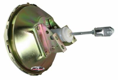 Tuff Stuff Performance - Power Brake Booster Univ. 11 in. Single Diaphragm Incl. 3/8 in.-16 Mtg. Studs And Nuts Fits Hot Rods/Customs/Muscle Cars Gold Zinc 2227NB - Image 1