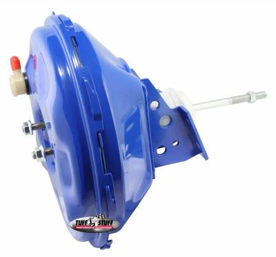 Tuff Stuff Performance - Power Brake Booster Univ. 11 in. Single Diaphragm Incl. 3/8 in.-16 Mtg. Studs And Nuts Fits Hot Rods/Customs/Muscle Cars Blue Powdercoat 2227NBBLUE - Image 2
