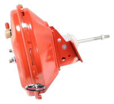 Tuff Stuff Performance - Power Brake Booster Univ. 11 in. Single Diaphragm Incl. 3/8 in.-16 Mtg. Studs And Nuts Fits Hot Rods/Customs/Muscle Cars Red Powdercoat 2227NBRED - Image 2