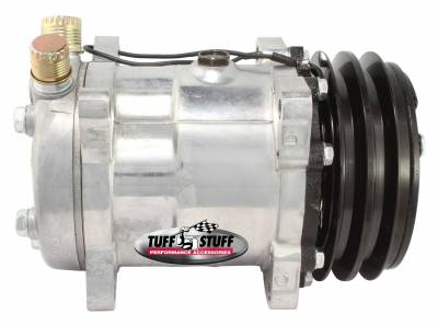 Sanden Style SD508 A/C Compressor R134A Series Double Pulley Factory Cast PLUS+ 4515NCDP