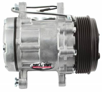 Sanden Style SD7 A/C Compressor R134A Series 6 Groove Pulley Factory Cast PLUS+ 4517NC6G