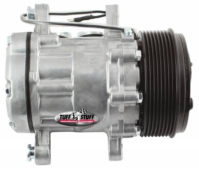 Sanden Style SD7 A/C Compressor R134A Series 8 Groove Pulley Factory Cast PLUS+ 4517NC8G