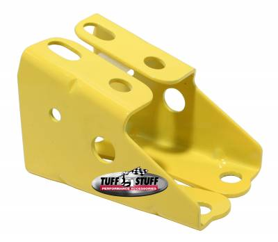 Brake Booster Brackets Incl. Left And Right Side 1967-1972 GM For Brake Booster PN[2121/2122/2123/2124/2129/2221/2222/2223/2224/2228/2229/2231] Yellow Powdercoat 4650BYELLOW