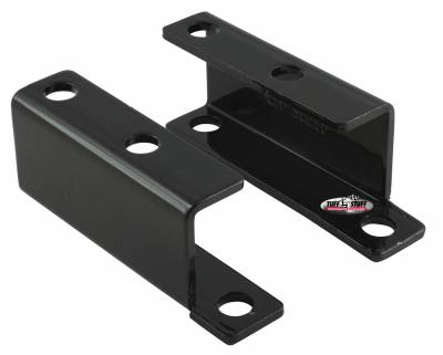 Brake Booster Brackets Incl. Left And Right Side 1955-1958 GM For Brake Booster PN[2121/2122/2123/2124/2221/2222/2223/2228/2229/2231] Black Powdercoat 4652C