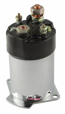 Tuff Stuff Performance - Chrome Plated Starter Solenoid For Chevy/Buick/Cadillac/Olds/Pontiac/OEM And Tuff Stuff Starter PN[3510/3570/3631/3689] 7550C - Image 1