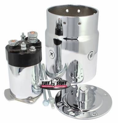 Chrome Plated Starter Kit For Chevy/Buick/Cadillac/Olds/Pontiac/OEM And Tuff Stuff Starter PN[3510/3570/3631/3689] 7550A