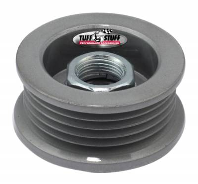 Alternator Pulley 2.25 in. 5 Groove Serpentine Incl. Lock Washer/Nut As Cast 7610BC